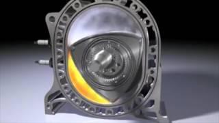Le moteur a piston rotatif Wankel