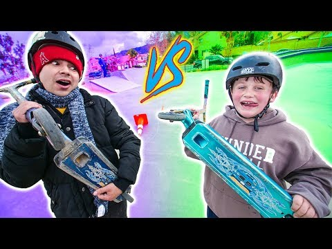 ULTIMATE GAME OF SCOOT! *ADRIAN VS JARED*