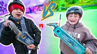 ULTIMATE GAME OF SCOOT! *ADRIAN VS JARED* thumbnail