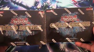 Yugioh Gold Series 5 Haunted Mine 2 Packs Opening