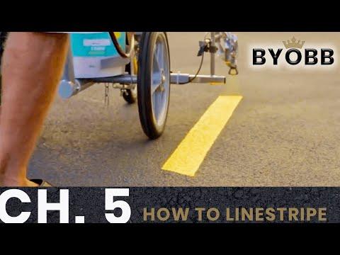BYOBB - Chapter 5: How To Line Stripe