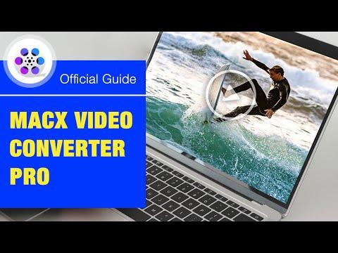 MacX Video Converter Pro - Convert/Record/Edit/Compress Video Easily