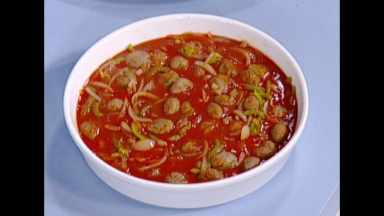 داوود باشا مطبخ رؤيا مع نبيل Food Soup Chili