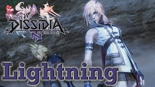 Dissidia Final Fantasy NT Closed Beta [PS4] - Lightning