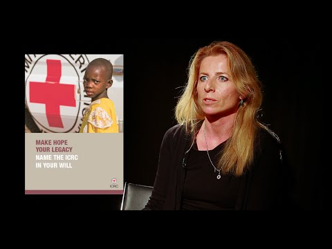 Interview with Marie-Jo Girod, bequests and donations manager at the ICRC