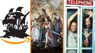 Pirated Games on Amazon + Octopath Traveler Sold Out + Bill & Ted 3 in Trouble