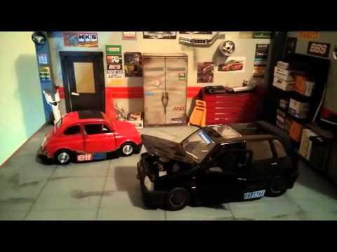 Diorama GARAGE TUNING