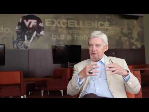 Catching up with former Hokies coach Frank Beamer