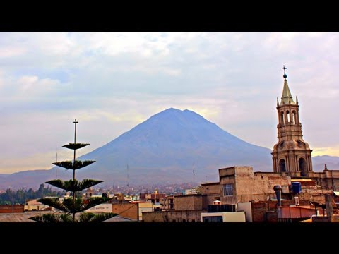 Arequipa, Peru - Early Morning 360 Degree View
