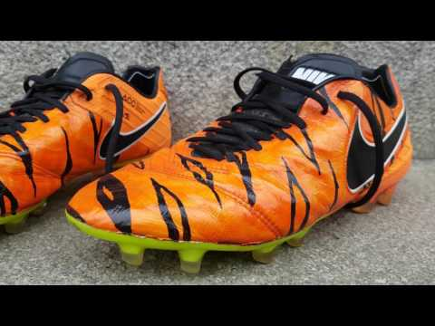 Custom Nike Tiempo Tiger Test