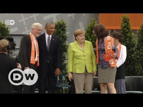 Get Merkel und Obama begeistern Berlin | DW Deutsch Screenshots