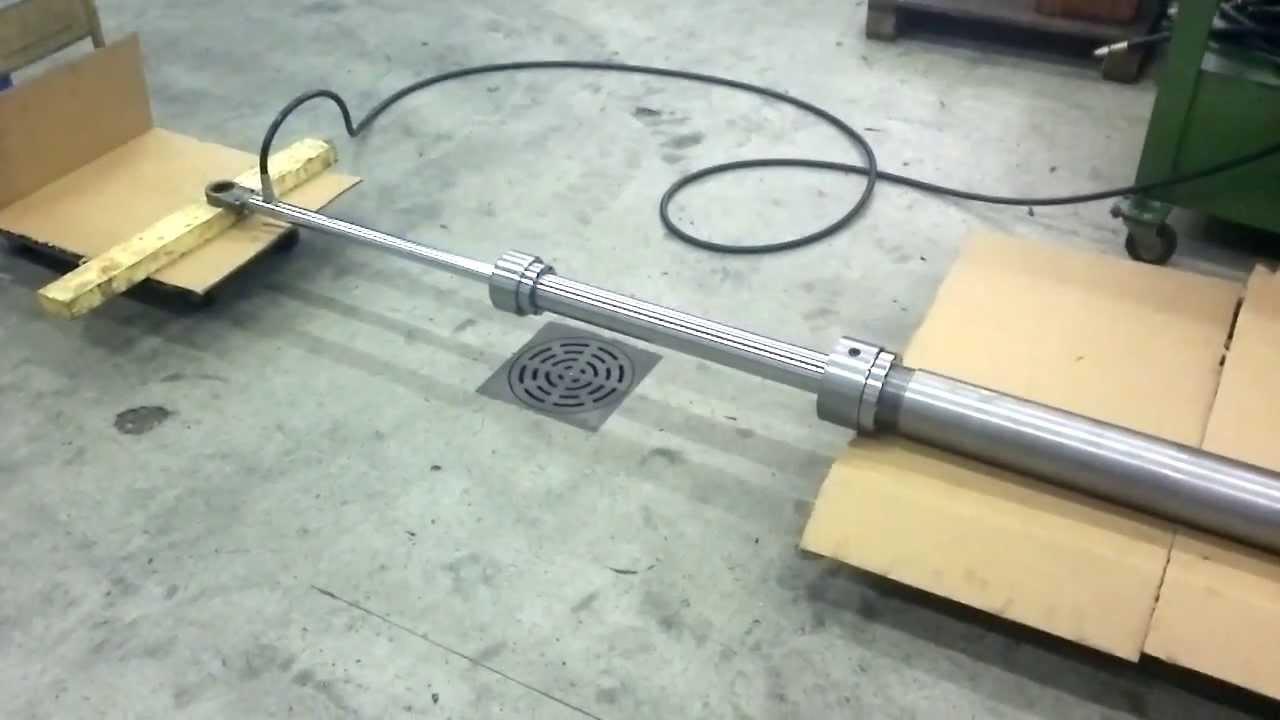 Dvosmerni Sinhroni Teleskopski Cilinder Double Acting