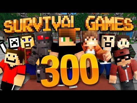 Minecraft: Survival Games! Ep. 300 - TRIPLE THE MARATHON!!!