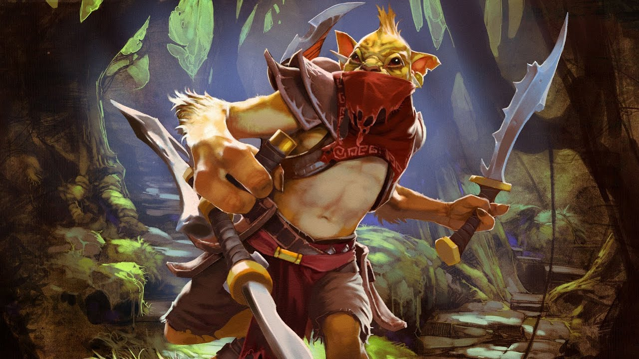 dota 2 bounty hunter o ca ador oculto youtube