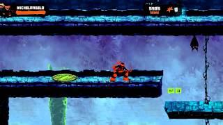 мультик игра черепашки ниндзя подземелье с монстрами прохождение и обзор игры