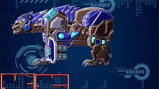 Robot Angry Bear#1 - Game Show - Ios Game Play - HD - Game For Kids