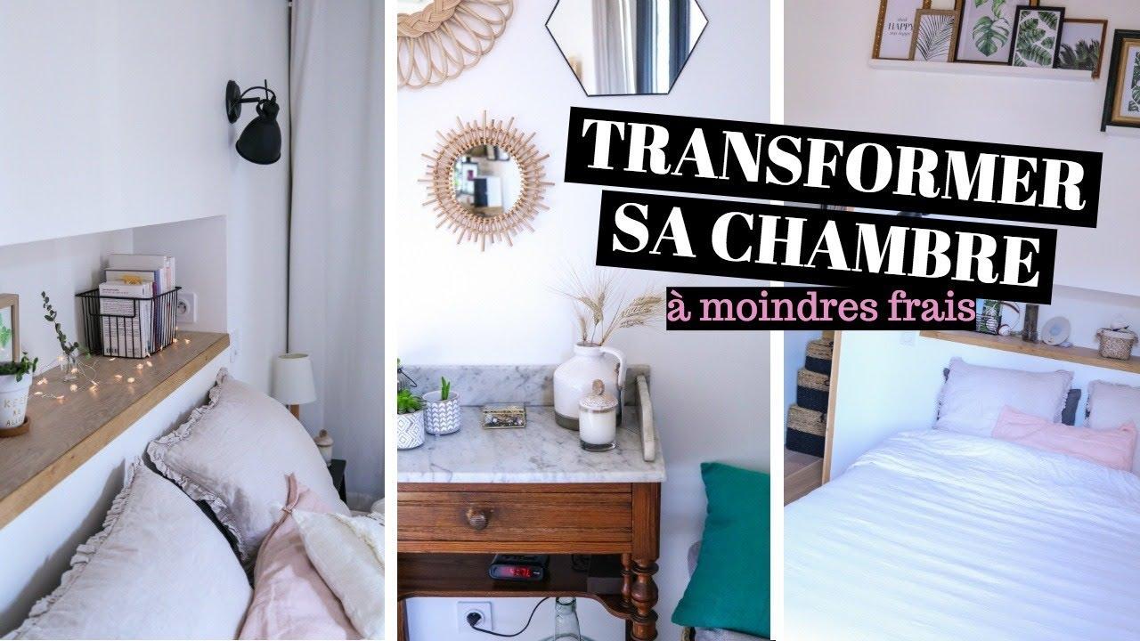 8 ASTUCES pour transformer sa chambre à moindres frais ...