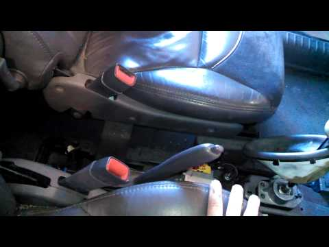 Center Console Removal Advice 2002 PT Cruiser Install Remove Replace How To