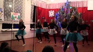 Танец 10 класса на Новый год