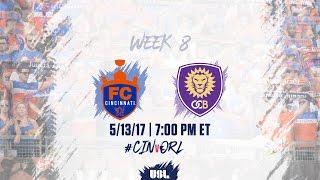 USL LIVE - FC Cincinnati vs Orlando City B 5/13/17 thumbnail