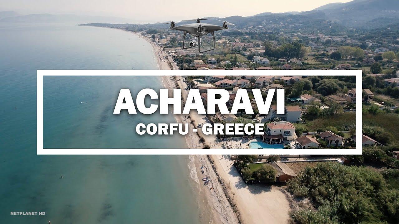 The stunning Acharavi Beach