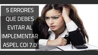 Aspel COI 7 0 y la Contabilidad Electrónica 5 Errores Que debes Evitar al Implementar