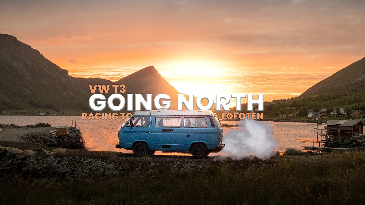 Racing North in a VW T3 - then everything caught fire (Grand Norwegian Road Trip ep. 3)