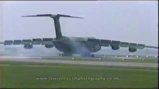C-5 Galaxy, Air Fete 91  RAF Mildenhall