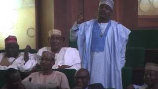 Hon Mohammed Gudaji Kazaure contributing on a point of order on personal explanation bordering on Di thumbnail