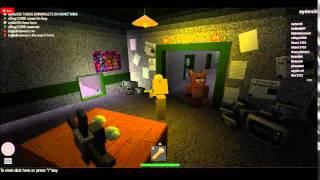 FNAF Golden Freddy Simulator... (Ein Roblox Film)
