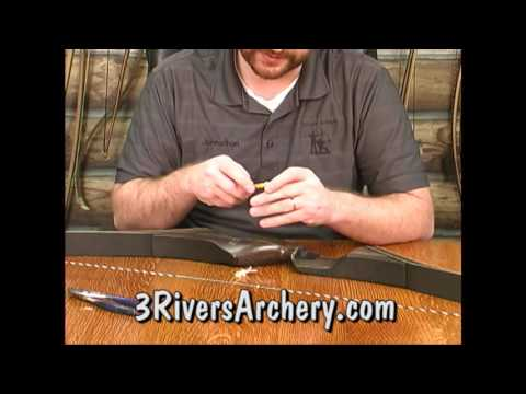 How to Install Wishbone String Silencers by 3Rivers Archery