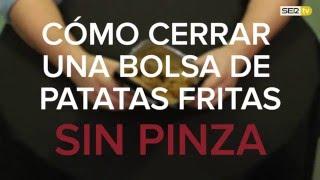 Trucos De Cocina Cómo Cerrar Una Bolsa De Patatas Fritas Sin Pinza Youtube