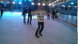 Вращение на коньках