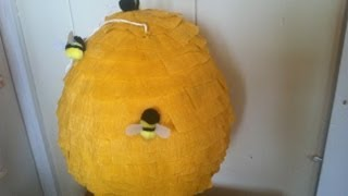 Diy Bee Hive Pinata