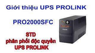 REVIEW UPS PROLiNK PRO2000SFC 2000VA