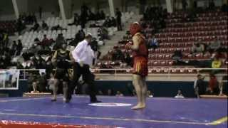 Wushu Hakan Uzun Türkiye Maç 2  1 Raund 2012