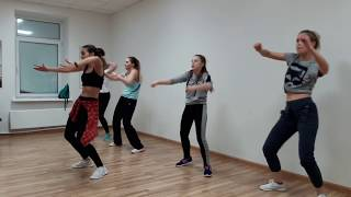 DanceHall  - связка 2 - урок 1