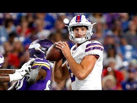 "Nate Peterman || ""Rising Star"" || Buffalo Bills Preseason Highlights"