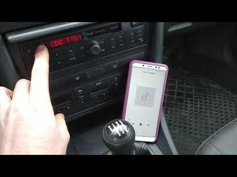Эмулятор CD Changer на Arduino + Bluetooth модуль на Audi Concert