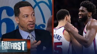 'Embiid & Simmons combo could work for 76ers with new coach' — Broussard | NBA | FIRST THINGS FIRST