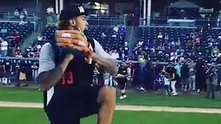 Odell Beckham Jr.'s Ridiculous Fastball
