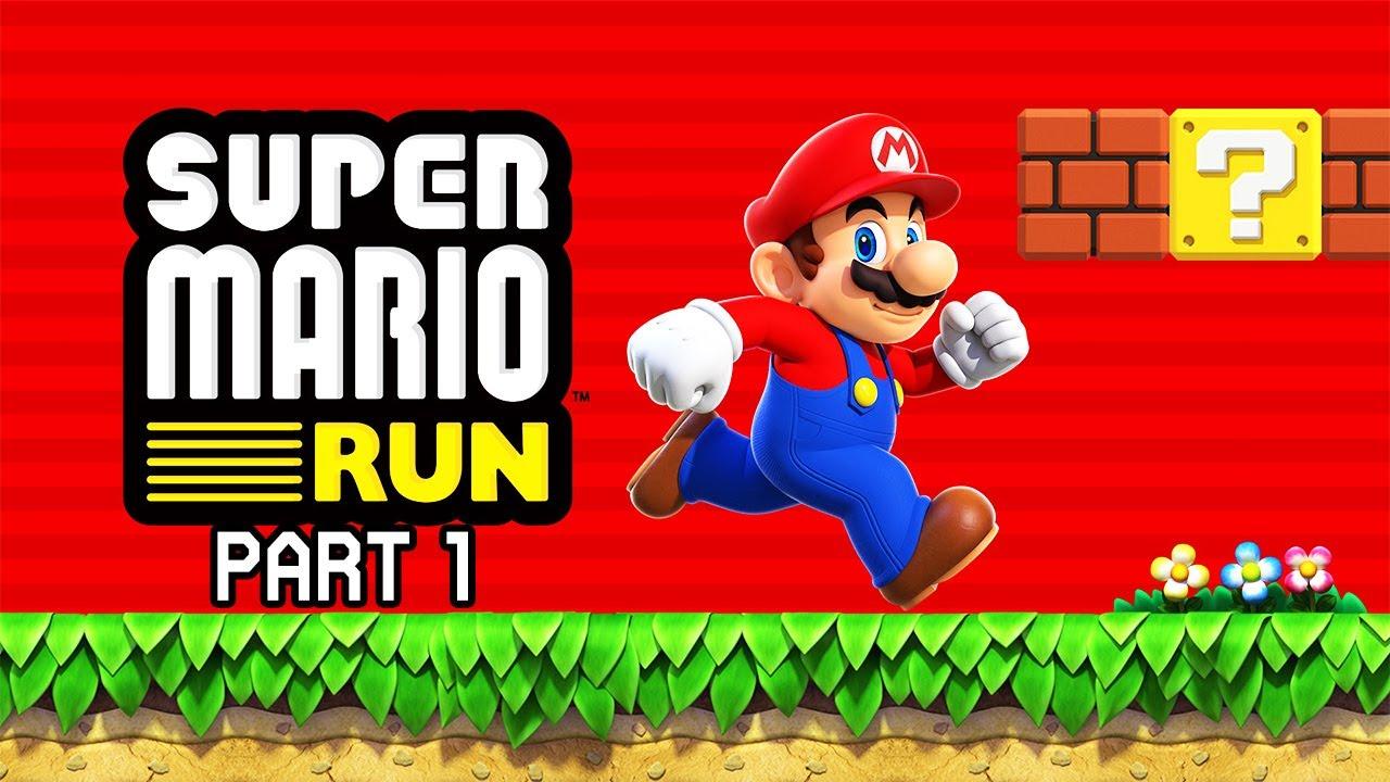 Super Mario Run - Part 1 (Full Walkthrough)