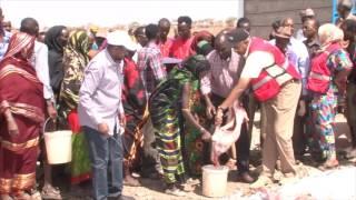 Kenya Red Cross - Drought Response, First Lady H E Margaret Kenyatta Video
