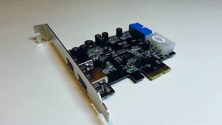USB 3.0 PCI-e Card| Unboxing and Installation