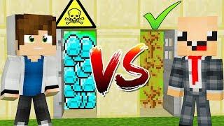 ЧТО ВЫБЕРЕТ НУБ И ПРО  ЛОВУШКИ КОТОРЫЕ ОЧЕНЬ СЛОЖНЫЕ ШОК ТРОЛЛИНГ ИСПЫТАНИЕ Minecraft
