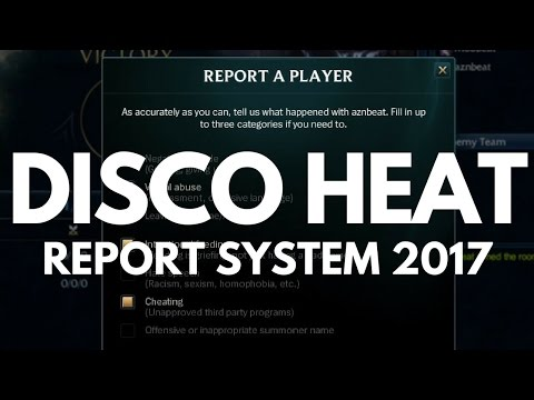 DISCO HEAT - REPORT SYSTEM IN 2017