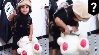 Новое видео ИГИЛ: малыш отрубает голову плюшевому мишке