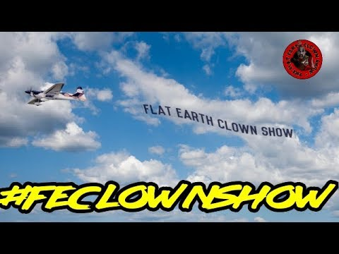 FLAT EARTH INTERNATIONAL CLOWN🤡SHOW - F.E.I.C vs The Trolls thumbnail