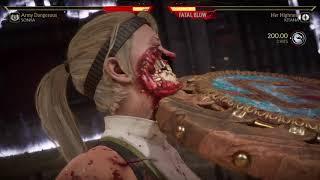 Mortal Kombat 11 Sonya vs Kitana