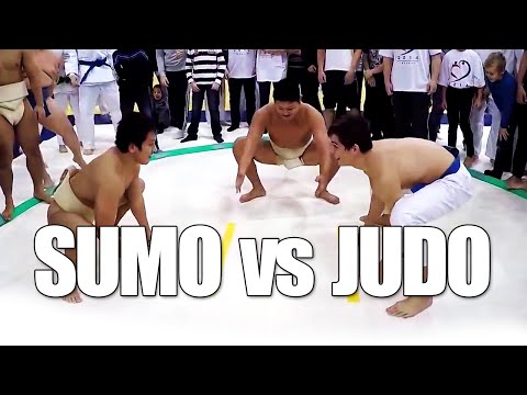 Sumo vs Judo - Throwdown